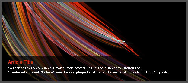 Install Featured Content Gallery Plugin to Replace This Image